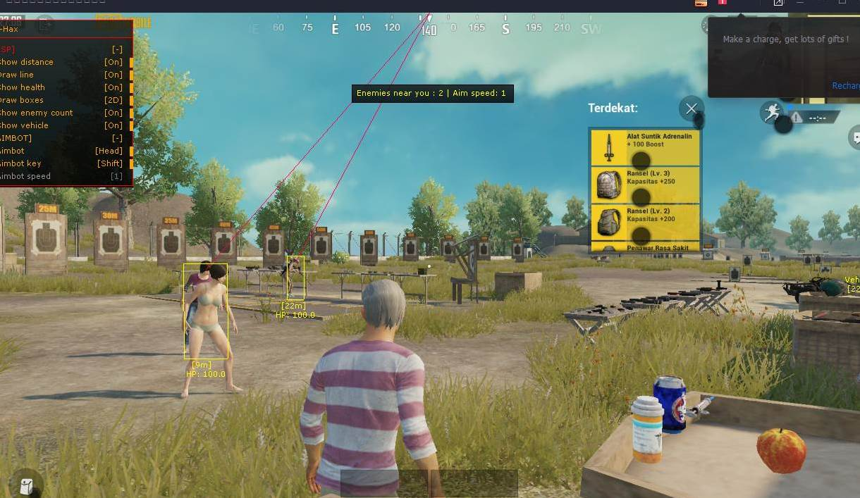 Settingan Pubg No Recoil 2019 - Cara Hack Pubg Lite